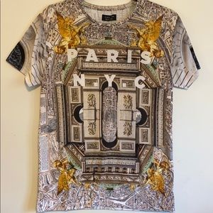 Zara Men printed tee - small